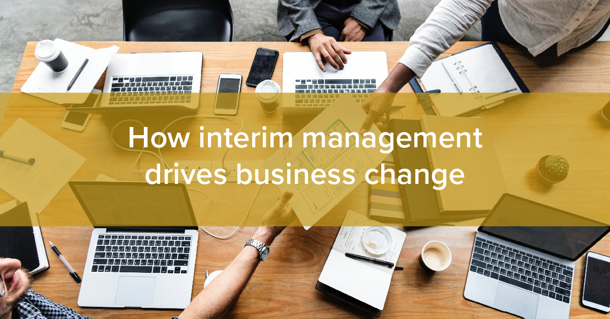 Thumbnail for How interim management drives business change