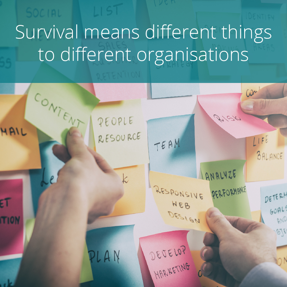 Thumbnail for How organisations are entering Survival Mode to manage Covid-19