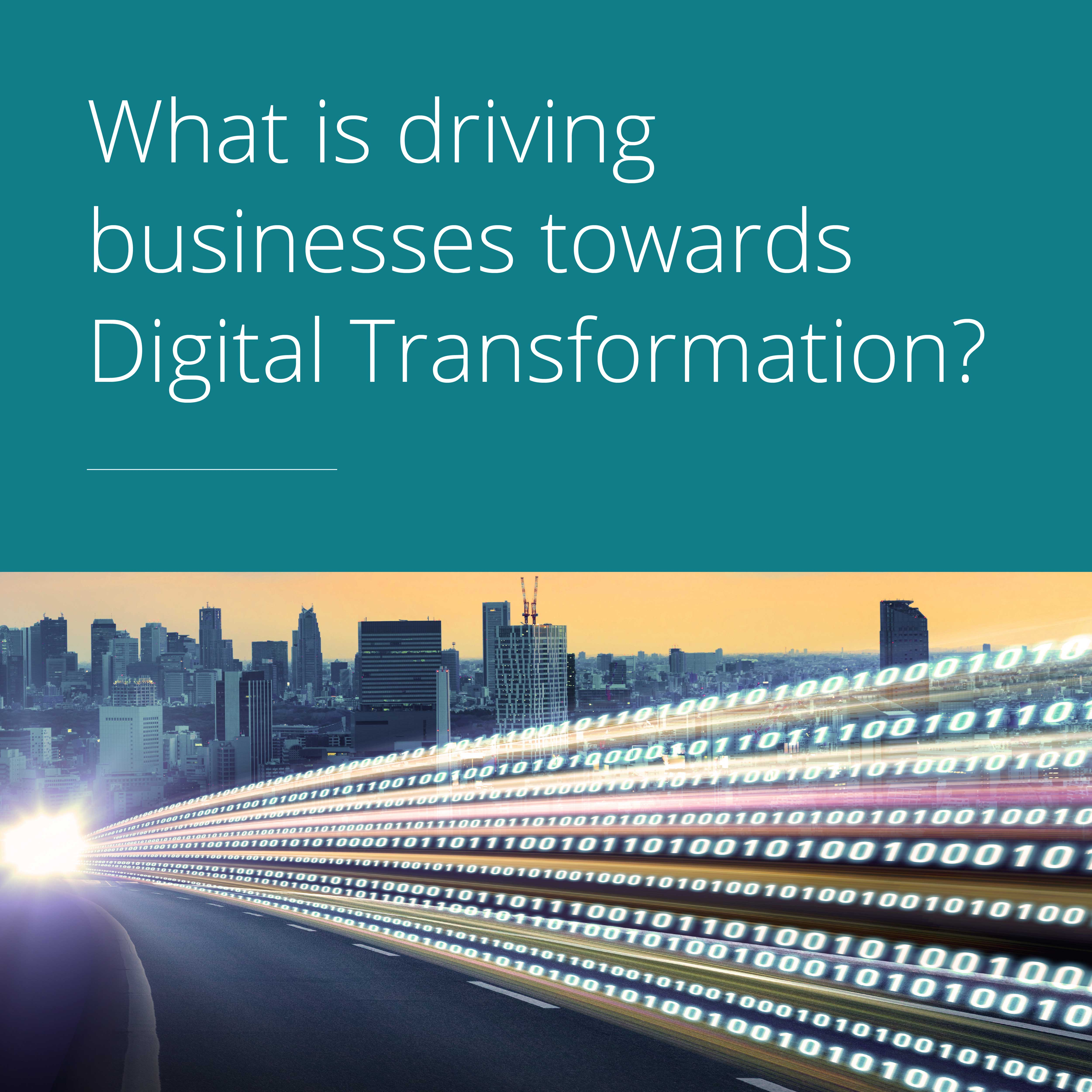 Thumbnail for What is driving companies toward digital transformation