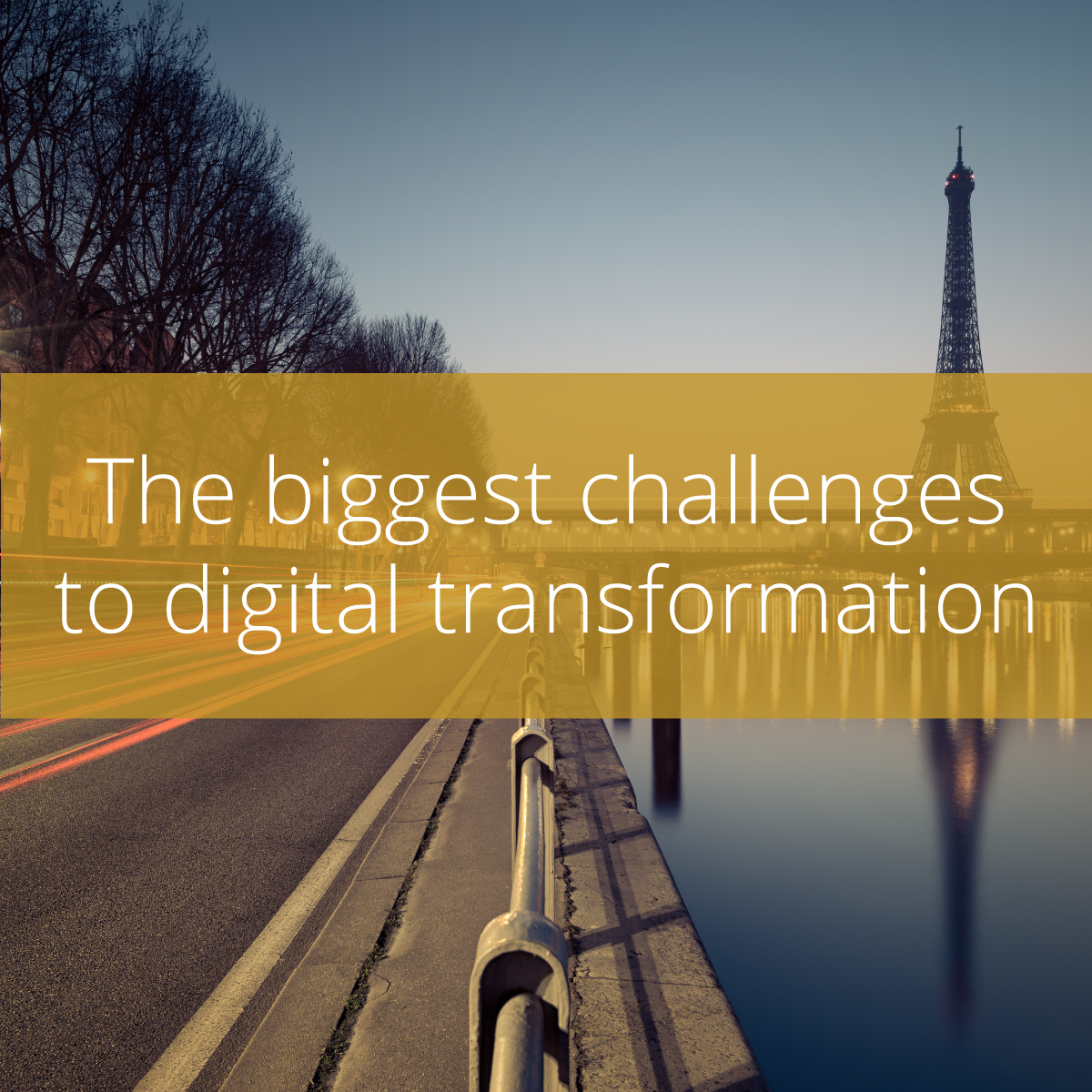 Thumbnail for The biggest challenges to digital transformation