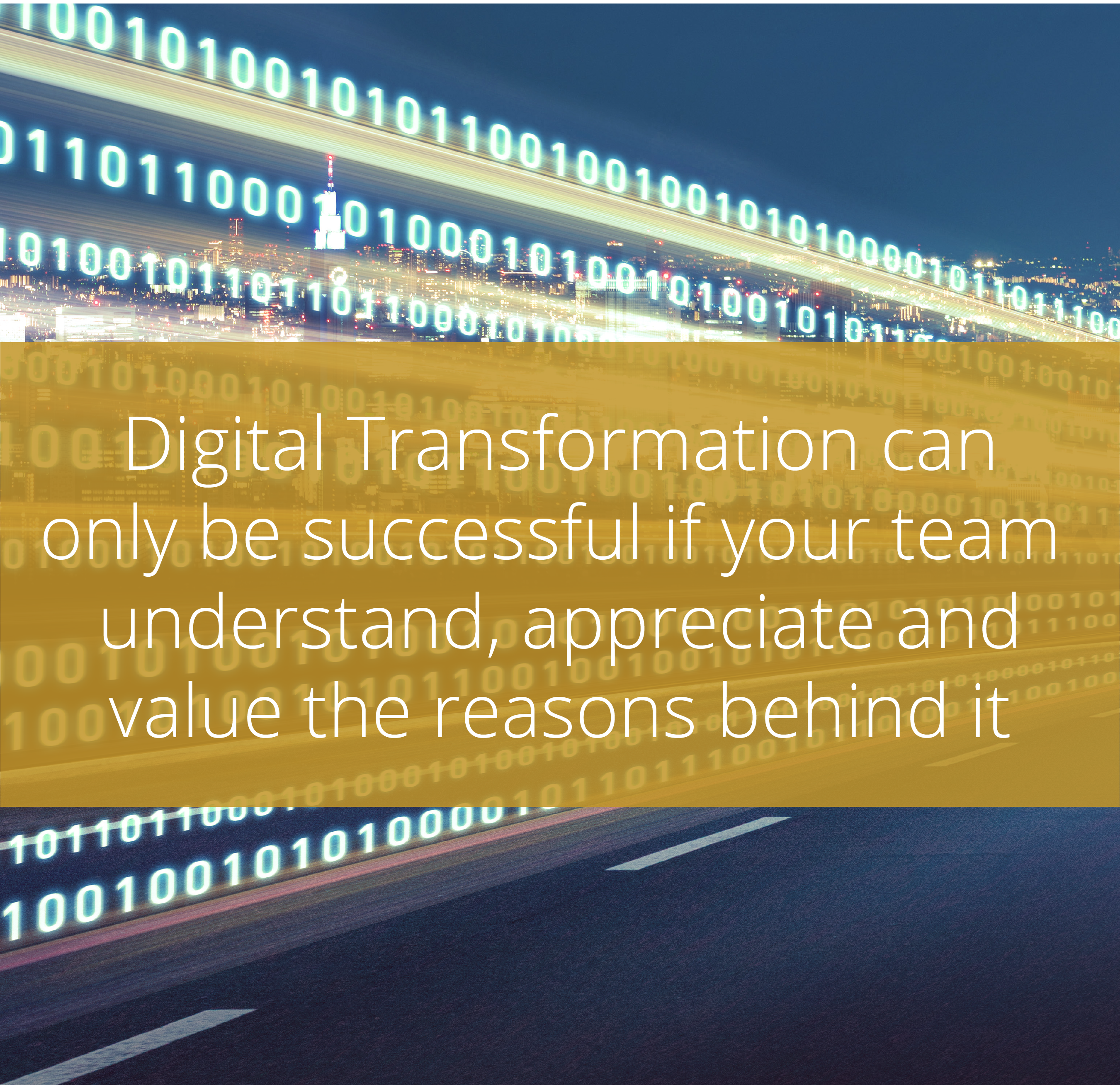 Thumbnail for Digital Transformation is about people, not technology