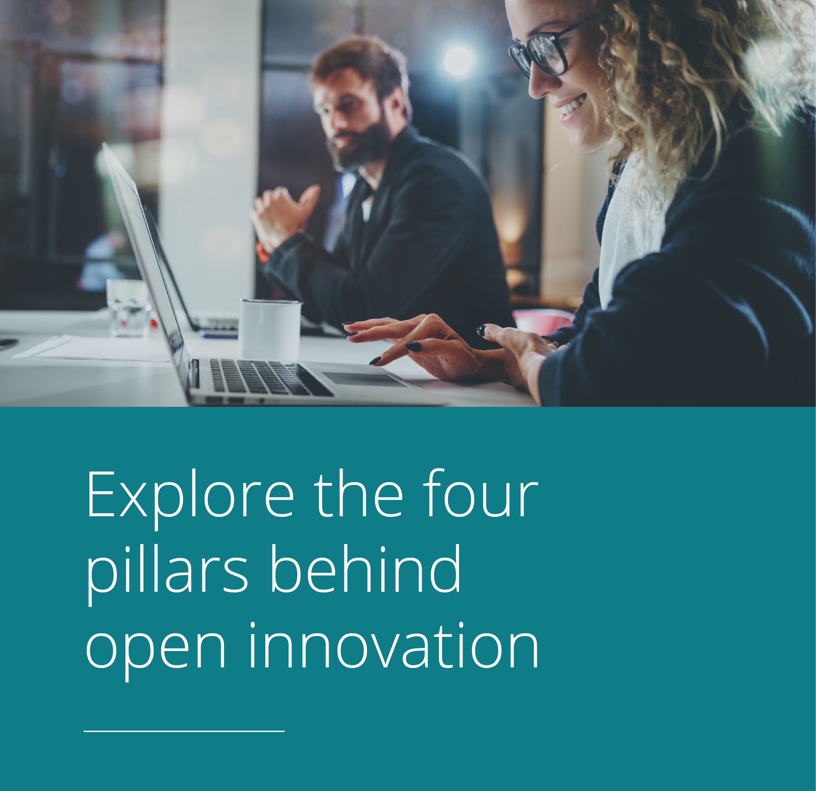 Thumbnail for The four pillars your organisation needs to harness open innovation