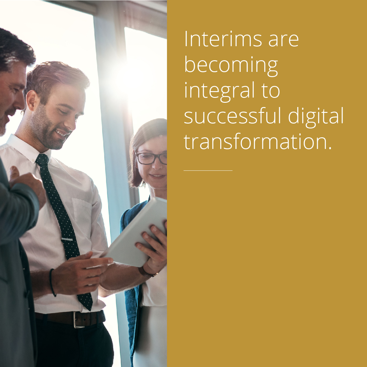 Thumbnail for How Executive Interims drive successful Digital Transformation