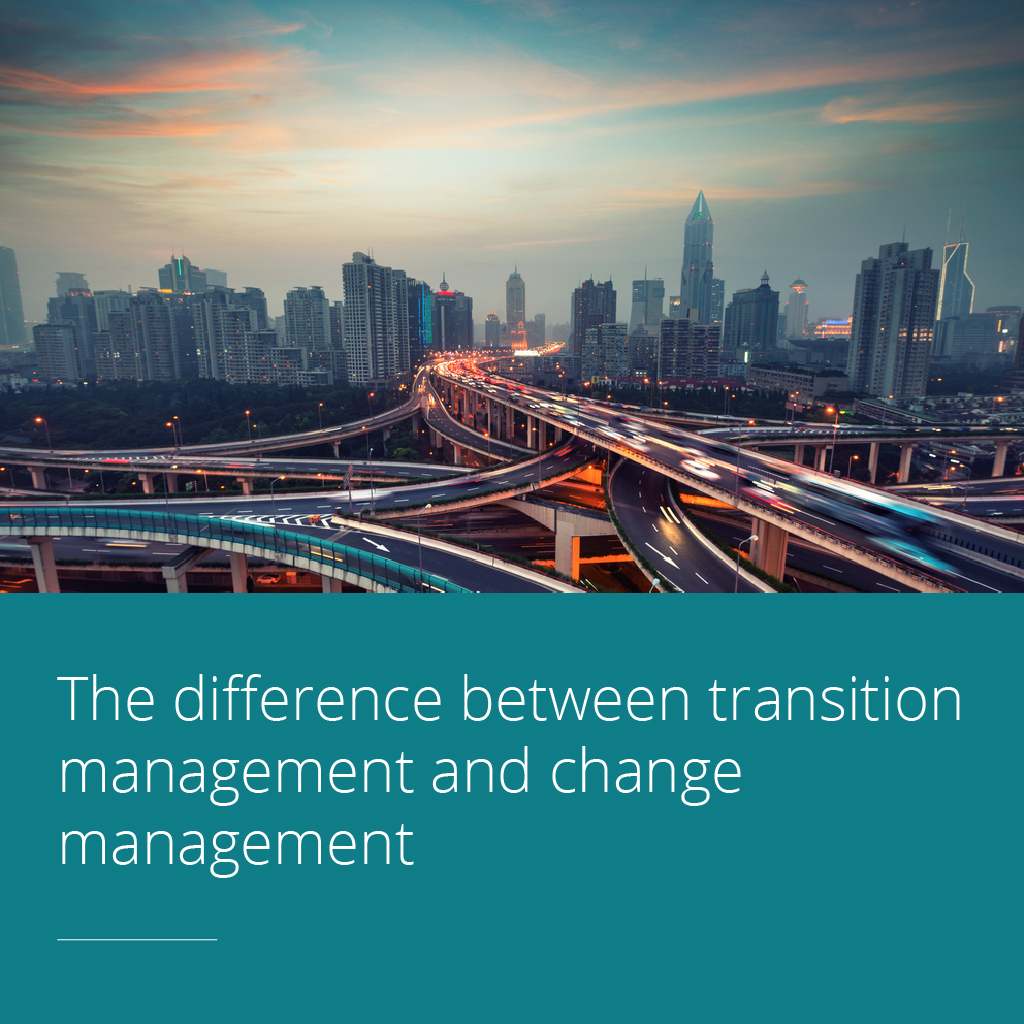 Thumbnail for The difference between transition management and change management