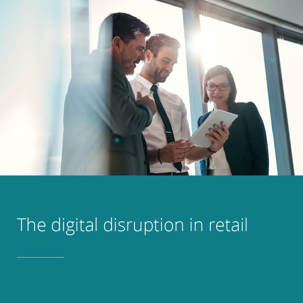 Thumbnail for The digital disruption in retail