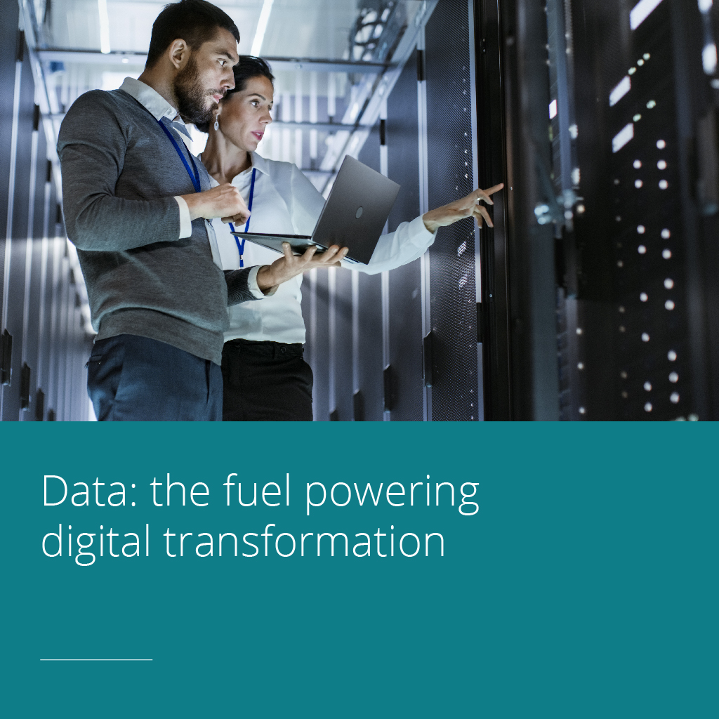 Thumbnail for Data: the fuel powering digital transformation